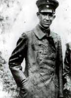 Leutnant Georg Britting im ersten Weltkrieg