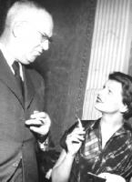 Georg Britting mit Ehefrau Ingeborg